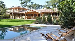 Les Belles Maisons Location Cap Ferret Phare Villa Courlis Avec Piscine Immo Prestige