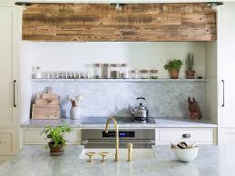 lauren liess kitchen hood wall natural wood and galvanized