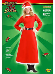 mrs santa claus costume women s simply mrs santa claus costume christmas costumes
