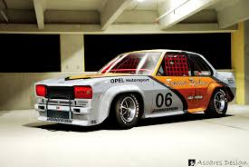 opel race car opel ascona b race by asoares on deviantart