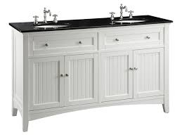 Cottage Style Bathroom Ideas by White Double Vanity Sink Like The Bead Board But Too Small Of A