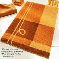 Orange Bathroom Rugs by Perfect Orange Bathroom Rugs Bathroom Decor Ideas Bath Rugs Shower