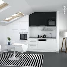meuble hotte cuisine meuble hotte cuisine cuisine bicolore design blanche et