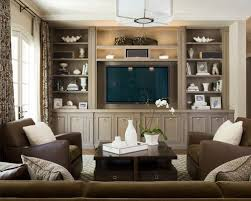Media Room Built In Cabinets - angled wall built ins houzz