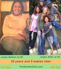 jinjee before and after raw vegan diet before and afters