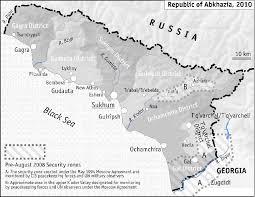 map of abkhazia republic of abkhazia abkhaz abkhasia apsny