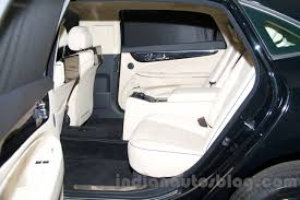 toyota limo interior hyundai equus limousine at 2014 moscow motor show rear seat