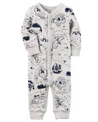 Lamb And Flag Cotton Snap Up Footless Sleep U0026 Play Carters Com