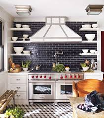 Gray Tile Kitchen - gallery the tile house