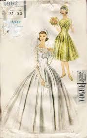 vogue wedding dress patterns 216 best bridal gown patterns images on vintage