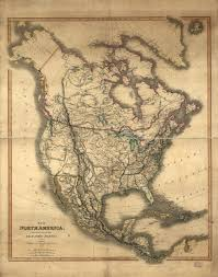 Picture Of A Blank Map Of The United States by Cartography Of Oregon 1507 1848
