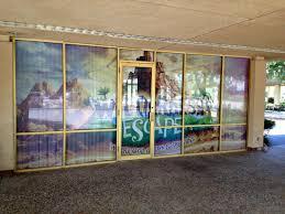 custom glass door decals window decals in garland plano richardson sign authority inc
