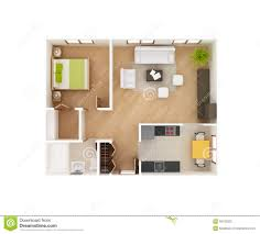 house plans with a view modern house basic 3d house floor plan op view stock photo image 38730320