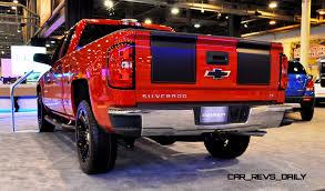 Red Lifted Chevy Silverado Truck - 2015 chevrolet silverado rally sport and custom sport
