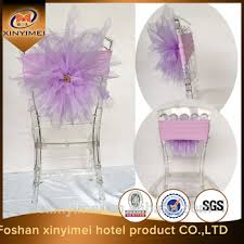 Chair Cover For Sale Cheap Organza Flower Wedding Chair Covers For Sale Buy Half
