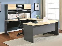 Black Corner Desk With Hutch Office Furniture Furniture Awesome Cool Office Desks White