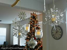 anyone can decorate my diy ornament chandelier