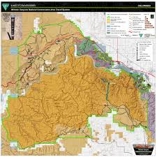 National Map Mcinnis Canyons National Conservation Area Mcnca Travel Map