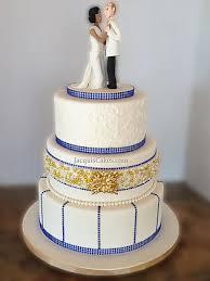 wedding cake royal blue jacqui s cakes fondant wedding cake gallery