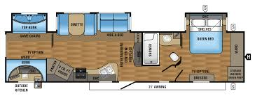 Turbo Floor Plan 2017 Eagle Travel Trailers 333bhok Jayco Inc