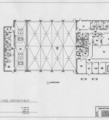 Fire Department Floor Plans Proposed Floor Plan First Floor Fire Station Floor Plans And