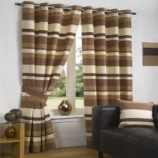 Chocolate Curtains Eyelet 23 Best Checks And Stripes Images On Pinterest Window Curtains