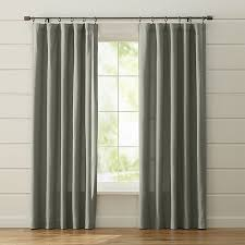 Beige And Gray Curtains Wallace Grey Curtains Crate And Barrel