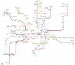 Shanghai Subway Map by Shanghai Metro Metro Map Real China