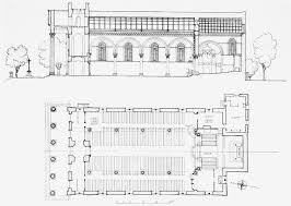 plate 3 st luke u0027s church west norwood longitudinal section and