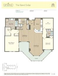 3 Bedroom Condo Floor Plan by Residence 1008 The Grand