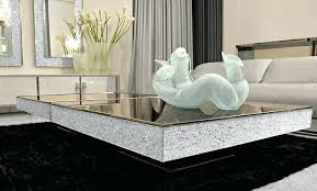 mirrored glass coffee table mirror glass dining table cuca me