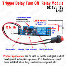 Jual Timer Dc timer relay ebay