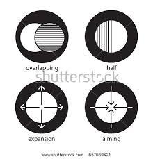 Glyph Symbol - half glyph icon silhouette symbol half stock vector 629069723