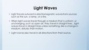 Light Travel Unit 7 Waves Sound And Light Ppt Video Online Download