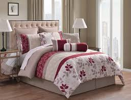 Black And Red Comforter Sets King Bedroom Make Your Bedroom Bedding More Beautiful With Kinglinen