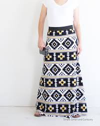 pattern for simple long skirt maxi skirt sewing pattern simple simon and company patterns