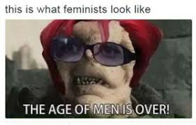 This Is What A Feminist Looks Like Meme - this is what feminists look like the age of men is over