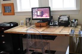 Diy Door Desk by Doing Rolling Desk Chair Covers U2014 Desk Design Desk Design
