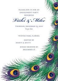 Party Invitations Cards Engagement Celebration Party Invitation Card Idea Emuroom