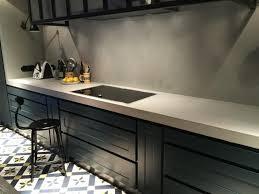 plan de travail cuisine en béton ciré plan de travail en béton ciré pour cuisine 71 couleurs dispo