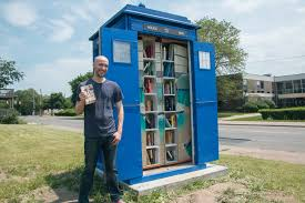 see inside this doctor who tardis is actually a tiny library