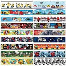 Wwe Wallpaper Border For Boys Bedroom Boys Character Self Adhesive Wallpaper Borders Star Wars Cars