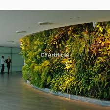 artificial garden vertical plants wall for indoor and outdoor