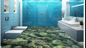 3d bathroom flooring 3d bathroom floor created with epoxy youtube