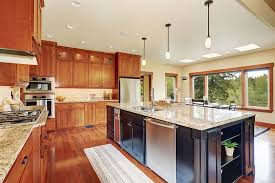 stained kitchen cabinets with hardwood floors 37 inspiring kitchen ideas with floors homenish
