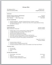 Example Of College Student Resume High Resume Template For College Resume Template And
