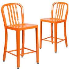 orange bar stools you u0027ll love wayfair