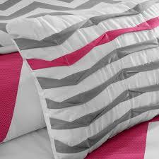 Pink And Grey Comforter Set Mizone Libra Twin Comforter Set Pink Free Shipping