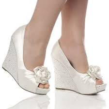 wedding shoes platform wedding shoe ideas gorgeous silver wedding wedge shoes best for