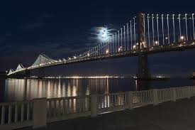 Bay Bridge Lights Bay Bridge Lights Up San Francisco Like Never Before The Boston